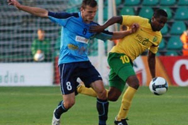 V drese Nitry debutoval ešte len 17-ročný Lukáš Štetina.