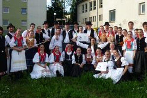 Folklórny súbor Zobor z Nitry sa stal laureátom Akademického Zvolena.