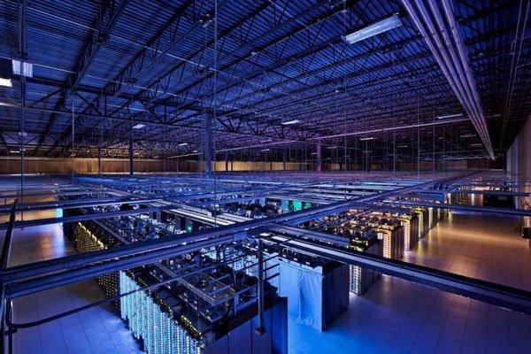 Jedno z dátových centier firmy Google.