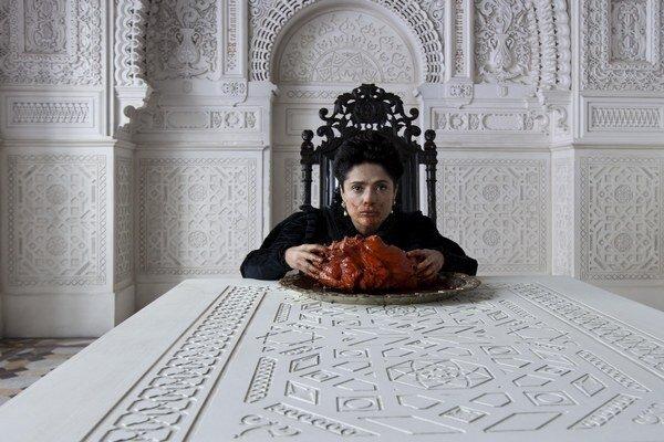 Salma Hayek musela jesť srdce, ktoré nielen zvonka, ale aj zvnútra kopírovalo štruktúru toho ľudského.