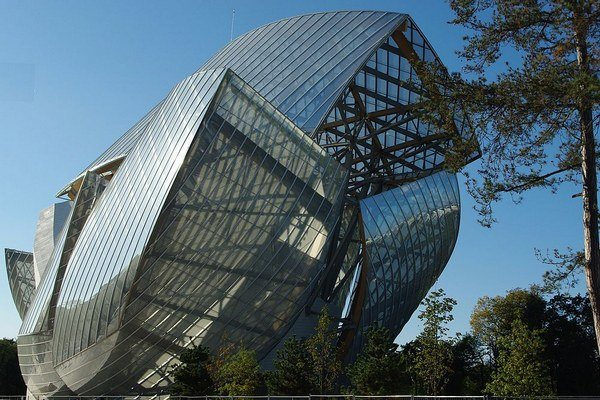 Fondation Louis Vuitton v Paríži.