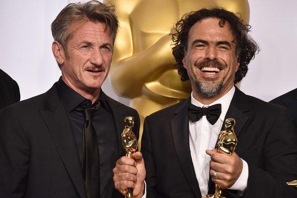 Dvaja kamaráti Penn a Iňárritu.
