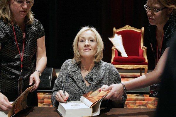 O niekoľko dní vyjde kniha Hodvábnik, ktorú Rowlingová nepodpísala vlastným menom.