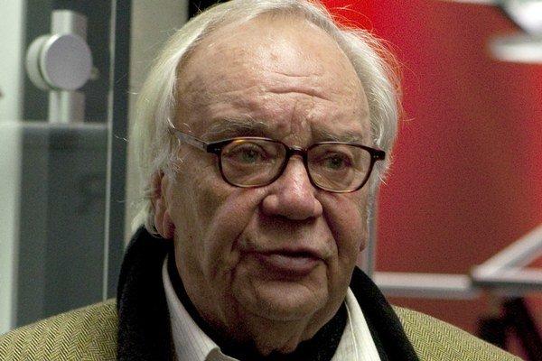 Tohtoročný laureát Jürgen Becker.