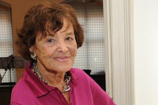 Agneša Kalinová (1924 - 2014).
