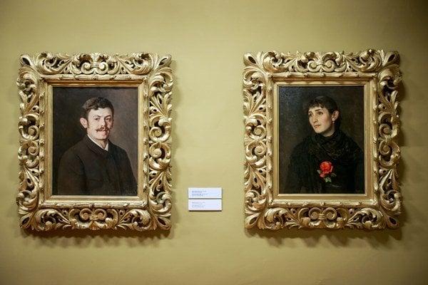 Dominik Skutecký (1849 – 1921) študoval najskôr vo Viedni, potom v Benátkach. Bol maliarom žánrových obrazov, krajinomalieb a portrétov. Pôsobil v Mníchove, Benátkach a vo Viedni, koncom 19. storočia sa natrvalo usadil v Banskej Bystrici. Portréto