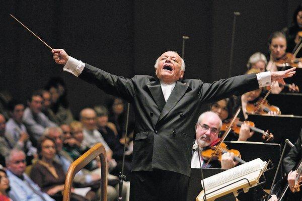 Byť dirigentom nie je žiadna mágia, iba disciplína, hovorieval Lorin Maazel.