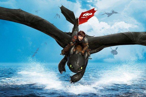 Film Ako si vycvičiť draka 2 upúta aj vynikajúcou animáciou.