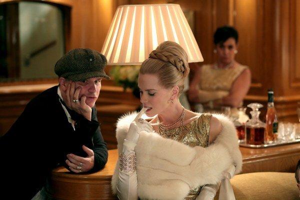 Nicole Kidman s francúzskym režisérom Olivierom Dahanom. Film Grace: Kňažná z Monaka sa do našich kín dostane 12. júna.