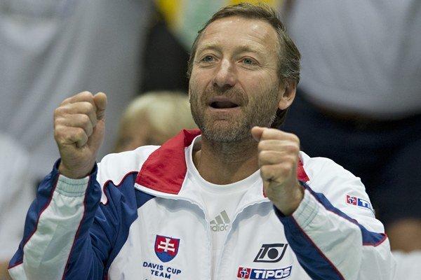 Miloslav Mečíř je na čele daviscupového tímu od roku 1994.