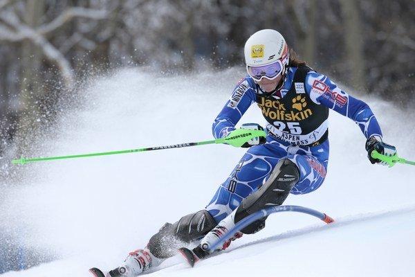 Petra Vlhová dosiahla cez víkend svoj životný výsledok vo Svetovom pohári.