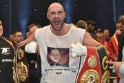 Tyson Fury získal po víťazstve nad Vladimírom Kličkom opasky štyroch organizácií.