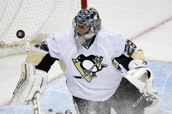 Marc-Andre Fleury bude Pittsburghu pár dní chýbať.