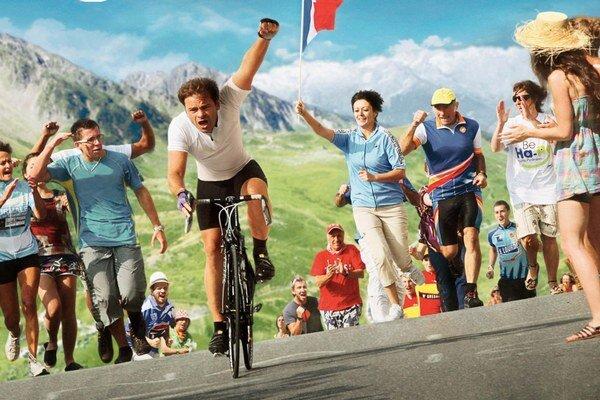 Komédia Veľké preteky je dostatočne bláznivá na to, aby bolo jasné, že je francúzska. Hlavnú úlohu hrá Clovis Cornillac (na bicykli). Laurent Tuel (47) je aj režisérom filmu Le Premier cercle so Jeanom Renom alebo hororu Detská hra s  Ludivine Sag