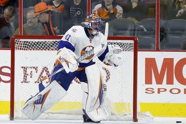 Jaroslav Halák sa pomaly ale isto blíži k jubilejnému víťazstvu na scéne NHL.