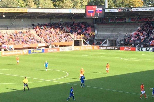 V Nijmegene dosiahli slovenskí mladíci veľmi pekný výsledok.