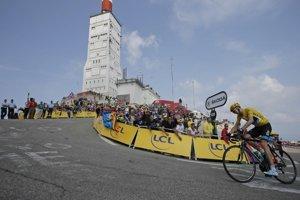 Naposledy cyklisti stúpali na Mont Ventoux v roku 2013. Vtedy bol na vrchole najrýchlejší Chris Froome.