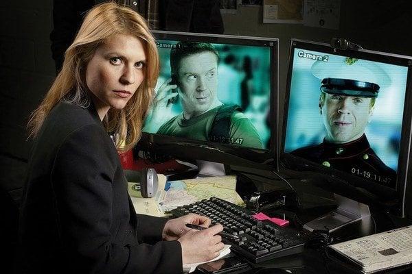 Agentka CIA Carrie (Claire Danes).