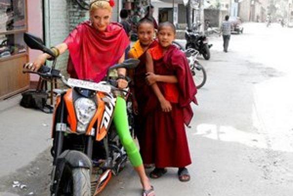 Dorota Nvotová žila v Nepále viac rokov, dostala tam meno Fulmaya.