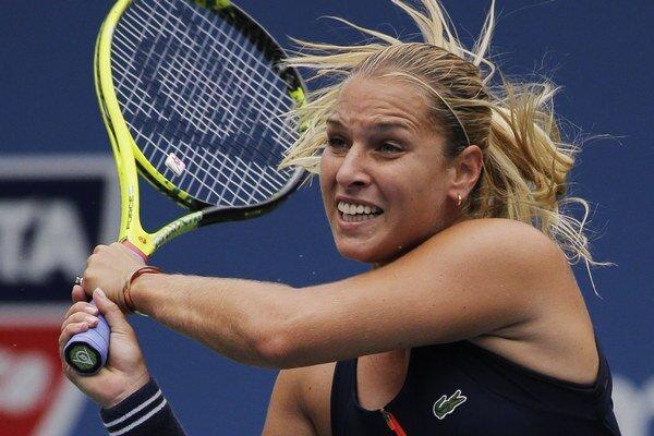 V druhom kole US Open potvrdila Dominika Cibulková úlohu favoritky. Ale poriadne sa vytrápila.