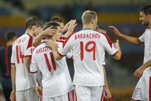 Bielorusi včera neponechali nič na náhodu a svojho luxemburského súpera bez problémov zdolali.