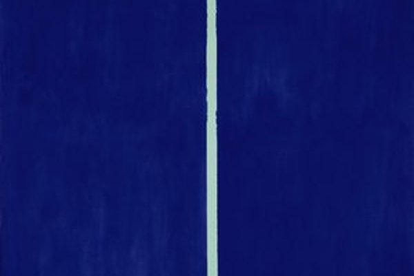Obraz Onement VI. amerického maliara Barnetta Newmana.