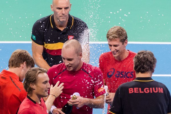 Daviscupový tím Belgicka sa postaral o veľké prekvapenie.