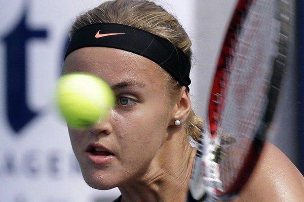 Anna Karolína Schmiedlová sa skvelými výkonmi v posledných týždňoch stále posúva v rebríčku nahor.