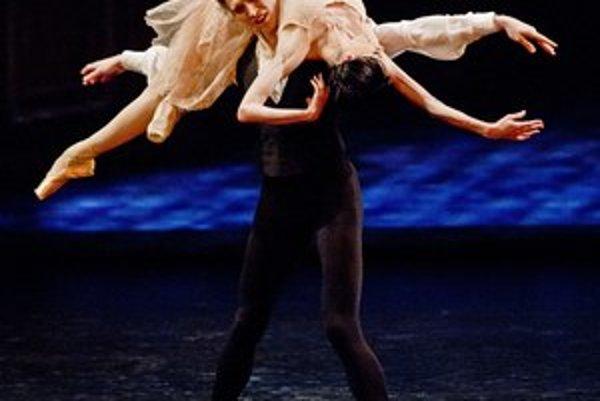 Lucia Lacarra a Marlon Dino na bratislavskom Open Balet Gala.