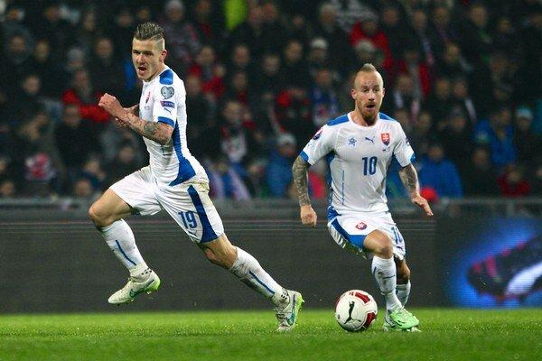 Futbalistov Slovenska budú v sobotu ťahať z druhého koša.
