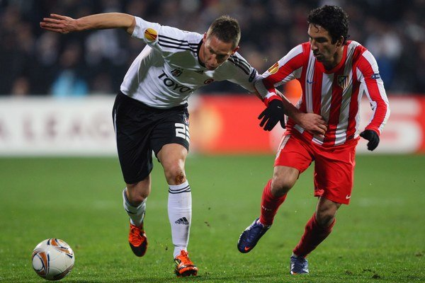 Filip Hološko (vľavo) si naposledy obliekal dres tureckého klubu Besiktas Istanbul.