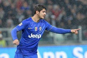 Álvaro Morata si nejaký čas dres Juventusu neoblečie.