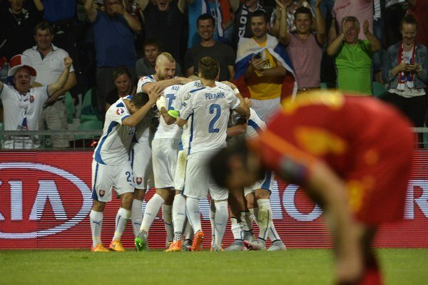 Futbalisti Slovenska sa neustále posúvajú vpred vďaka skvelým výsledkom v kvalifikácii o postup na ME 2016 do Francúzska. Naposledy v júni v Žiline zdolali Macedónsko.