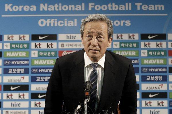 Chung Mong-joon už dávnejšie avizoval, že mieni kandidovať za nového šéfa Medzinárodnej futbalovej federácie.