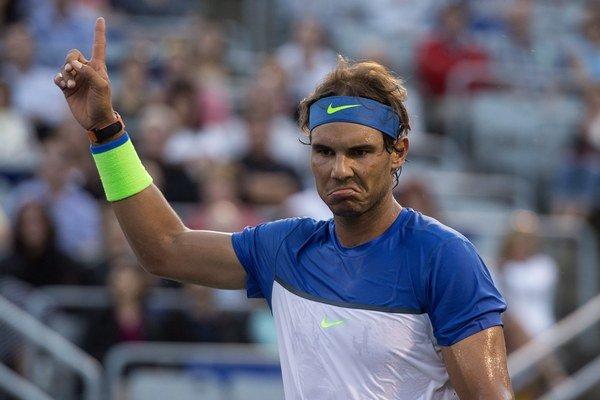 Trojnásobný víťaz turnaja v Montreale Rafael Nadal skončil tento rok už vo štvrťfinále.