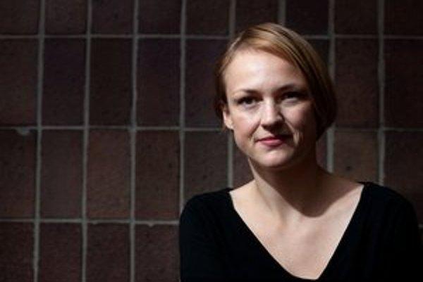 Víťazka Mira Gáberová.