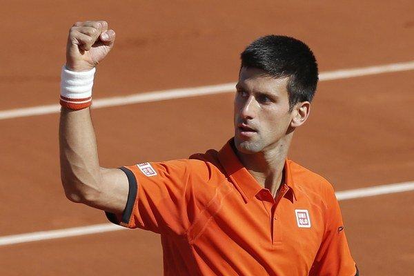 Novak Djokovič nedal Rafaelovi Nadalovi žiadnu šancu.