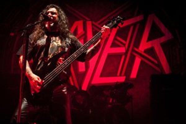 Formácia Slayer sa ukázala v dobrej forme. SME - MICHAL DURDOVANSKÝ