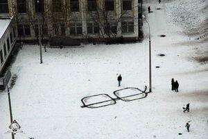 "Okuliare ""ruského Banksyho""."