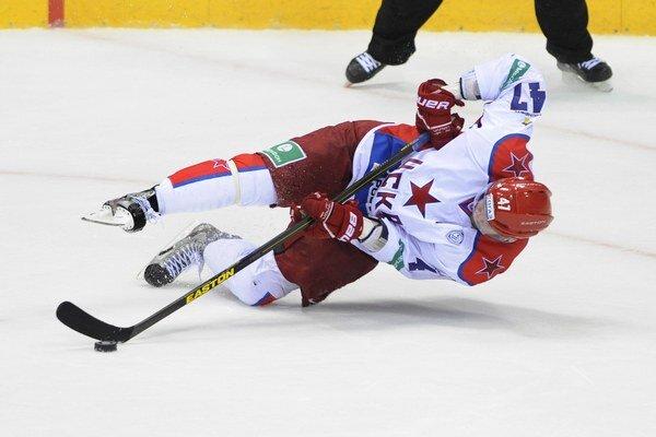 Nielen Alexandra Radulova, ale celý tím CSKA Moskva postihol pád v piatom zápase proti SKA Petrohrad.