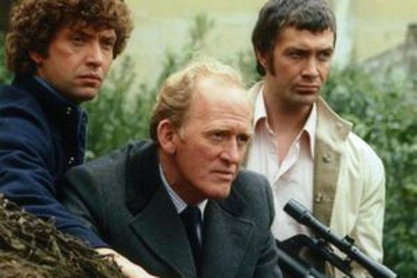 Slávne trio Doyle, Cowley a Bodie. Kto nahradí pôvodných hercov zo seriálu vo filme, sa zatiaľ nevie.