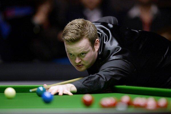 Snooker získava vo svete čoraz väčšiu popularitu. Na snímke Shaun Murphy, víťaz januárového Masters v Londýne.