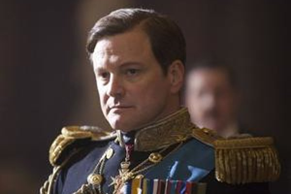 Colin Firth vo filme  King 's Speech.