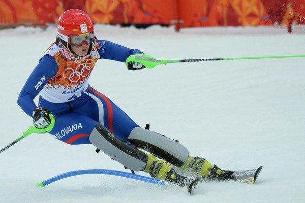 Jana Gantnerová podala na SZU solídny výkon.