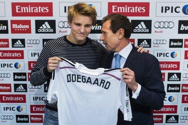 Martin Ödegaard.