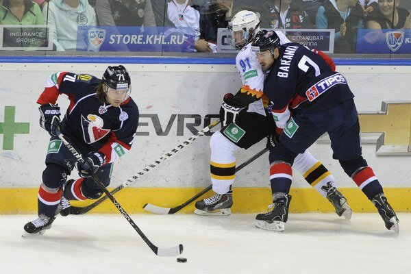 Ivan Baranka (vpravo) sa vracia do zostavy Slovana.