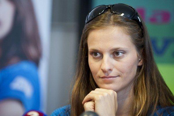 Danka Barteková začala sezónu štvrtým miestom.