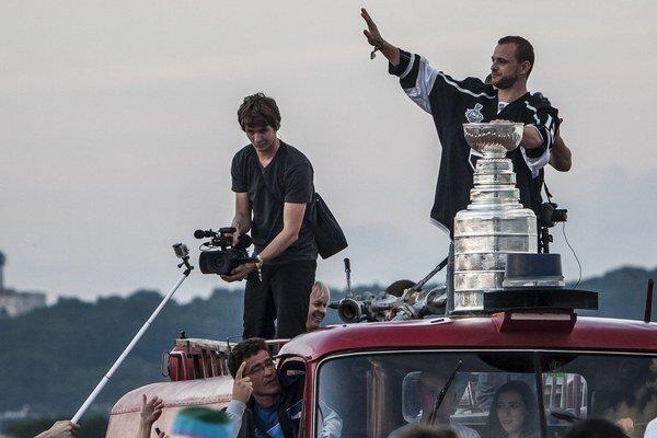 Marián Gáborík minulý rok získal Stanleyho pohár.