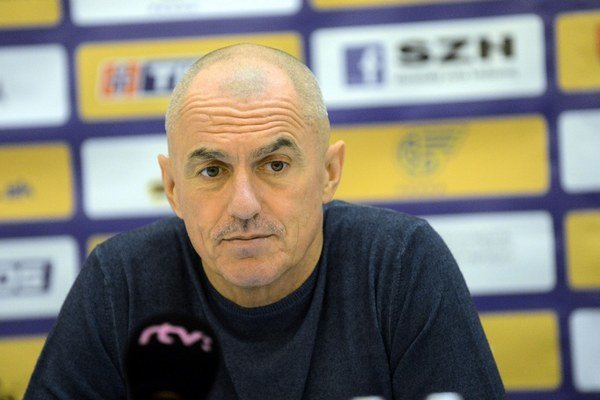 Tréner Zoltán Heister.