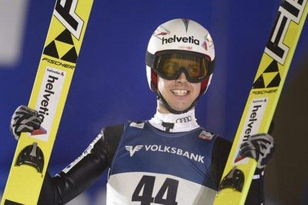 Simon Ammann slávil na podujatí Svetového pohára.